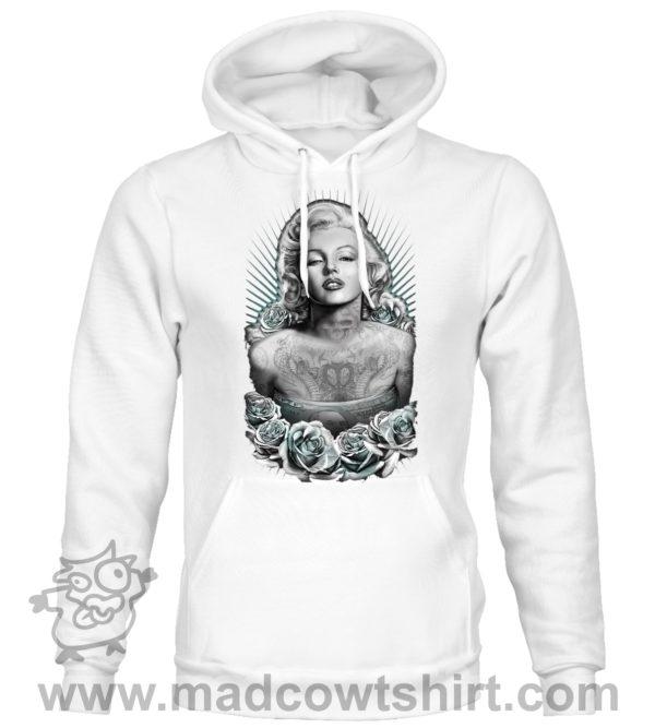 000356 gangster marilyn monroe Unisex Sweatshirt or Hoodie 1