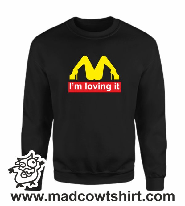 000361 im lovin it Unisex Sweatshirt or Hoodie 3