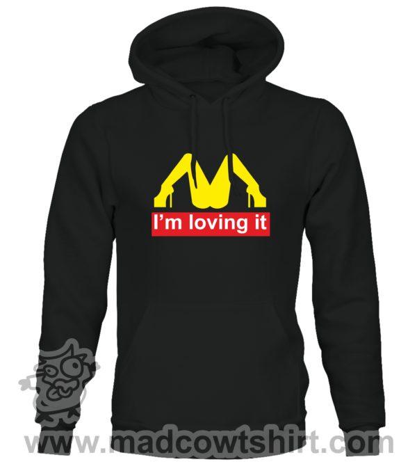 000361 im lovin it Unisex Sweatshirt or Hoodie 1