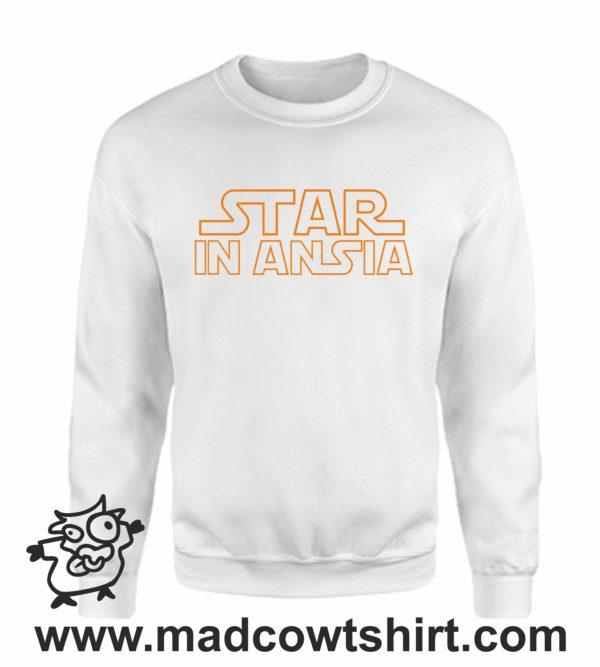 000363 star in ansia Felpa unisex senza o con cappuccio 4