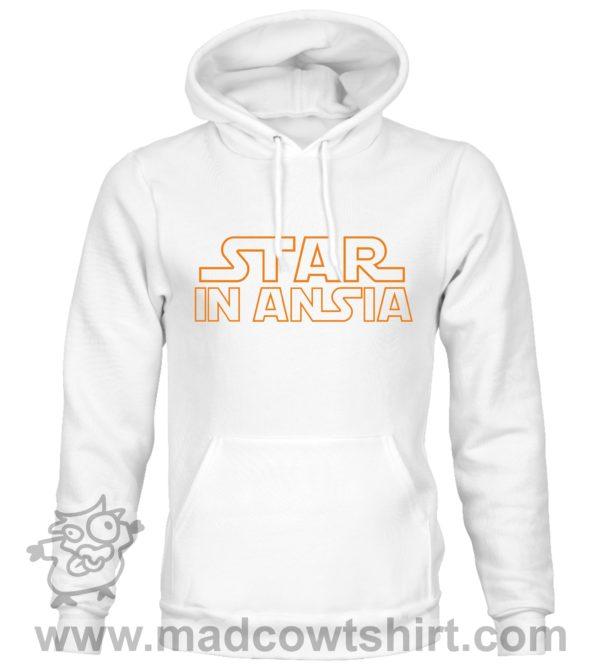 000363 star in ansia Felpa unisex senza o con cappuccio 2