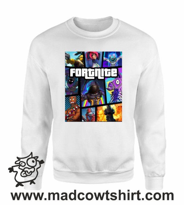 000366 fortnite Unisex Sweatshirt or Hoodie 3
