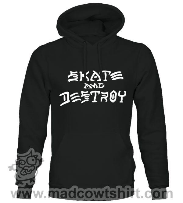 000368 skate and destroy Unisex Sweatshirt or Hoodie 2