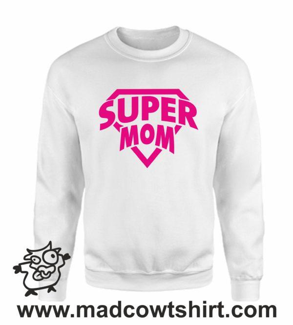 000371 super mom Felpa unisex senza o con cappuccio 4