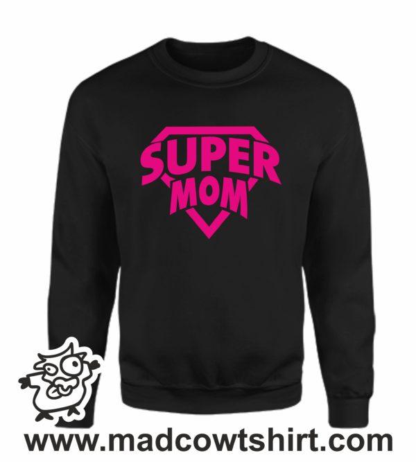 000371 super mom Felpa unisex senza o con cappuccio 3