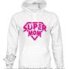 000371 super mom Felpa unisex senza o con cappuccio 5