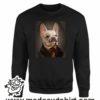 000373 funny monocle french bulldog Unisex Sweatshirt or Hoodie 6