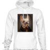 000373 funny monocle french bulldog Unisex Sweatshirt or Hoodie 5