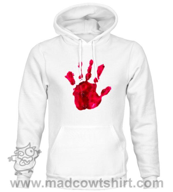 000377 blood hand Unisex Sweatshirt or Hoodie 2
