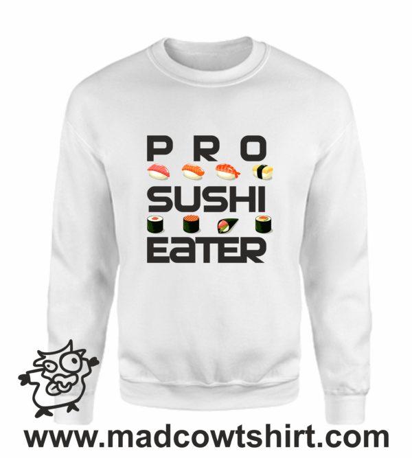 000379 pro sushi eater Unisex Sweatshirt or Hoodie 4