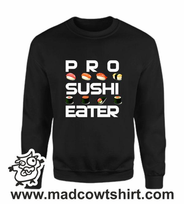 000379 pro sushi eater Unisex Sweatshirt or Hoodie 3