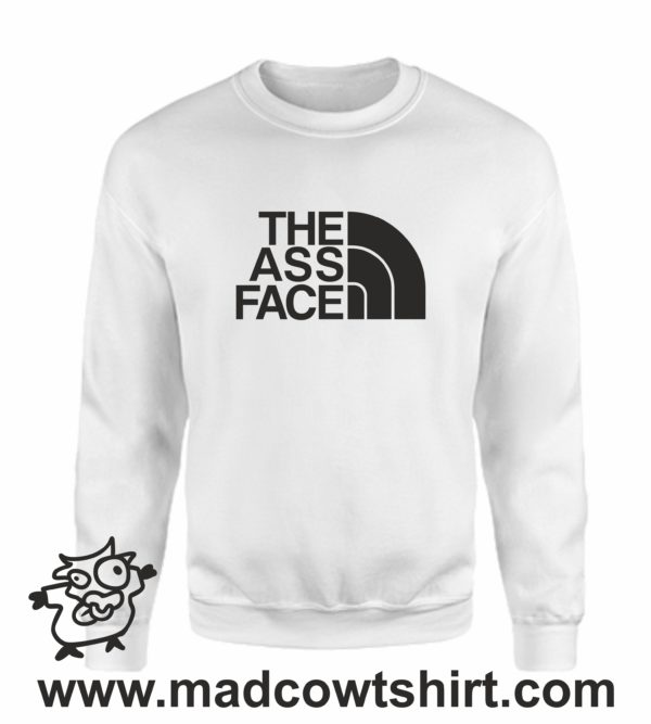 000382 the ass face Unisex Sweatshirt or Hoodie 3