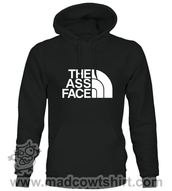 000382 the ass face Unisex Sweatshirt or Hoodie 2