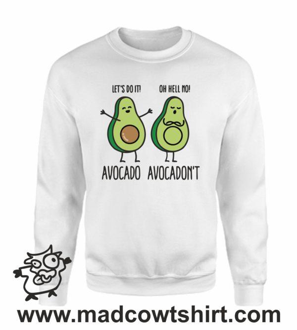 000383 avocadont Unisex Sweatshirt or Hoodie 4