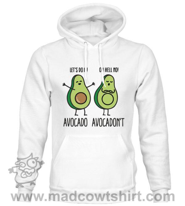 000383 avocadont Unisex Sweatshirt or Hoodie 2