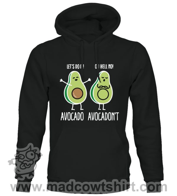 000383 avocadont Unisex Sweatshirt or Hoodie 1