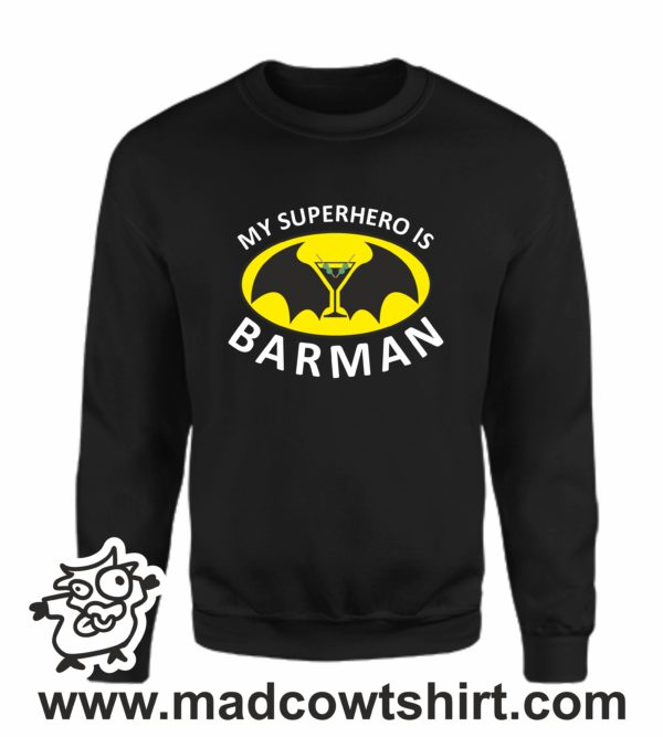 000384 barman Unisex Sweatshirt or Hoodie 4