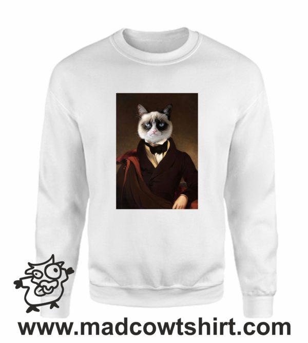 000388 funny cat paint Unisex Sweatshirt or Hoodie 3