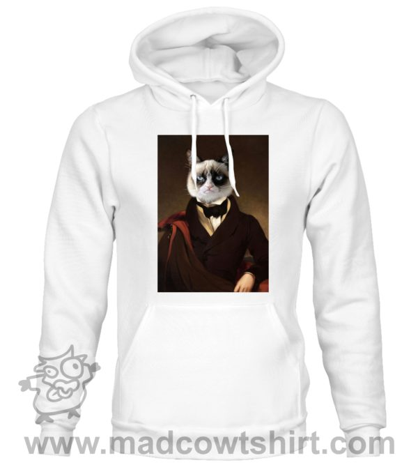 000388 funny cat paint Unisex Sweatshirt or Hoodie 1