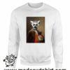 389 funny lemur paint FELPA bianca