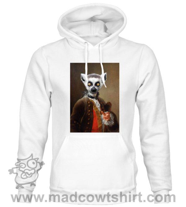 000389 funny lemur paint Unisex Sweatshirt or Hoodie 2