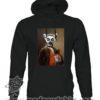 000389 funny lemur paint Unisex Sweatshirt or Hoodie 5