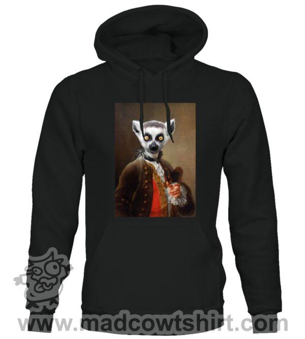 000389 funny lemur paint Unisex Sweatshirt or Hoodie 1