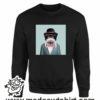 390 funny monkey paint FELPA nera