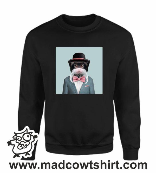 000390 funny monkey paint Unisex Sweatshirt or Hoodie 4
