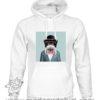 000390 funny monkey paint Unisex Sweatshirt or Hoodie 5