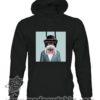 390 funny monkey paint FELPAC nera